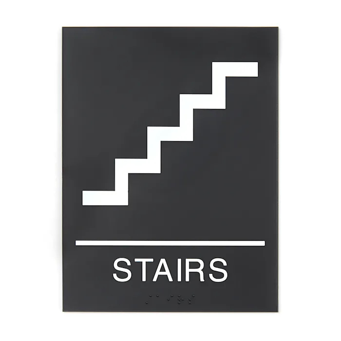 Stair Sign