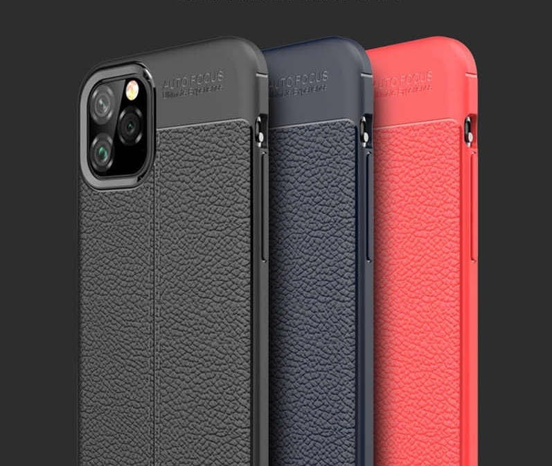 Leather TPU Case - iPhone 12 Pro Max