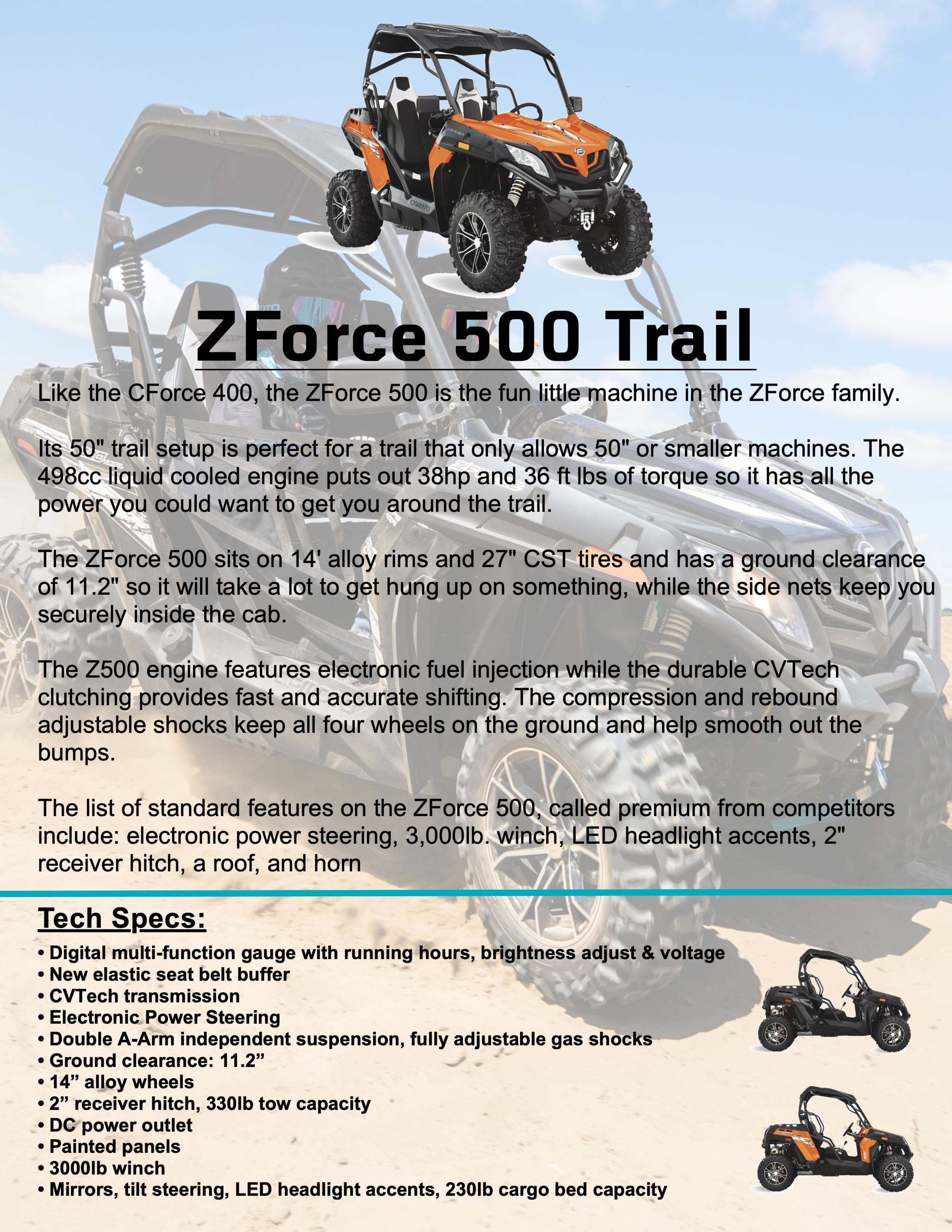 ZFORCE 500 TRAIL