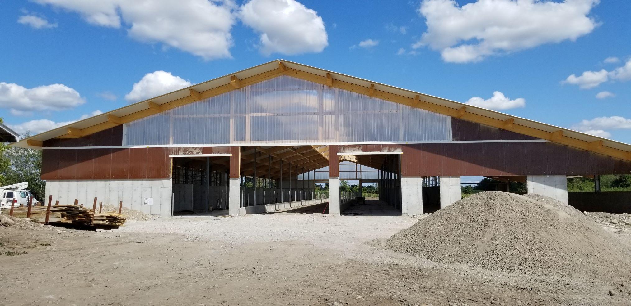 2019 Sterling, Ontario - Heifer barn