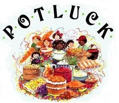 MONTHLY POTLUCK PARTY Third Sundays 4 - 8 pm 780-675-7753