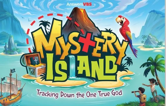 Join us for our Mystery Island Vacation Bible School this summer!