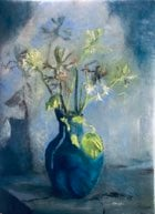 "Wen's Blue Vase 23"" x 31"" oil on linen"
