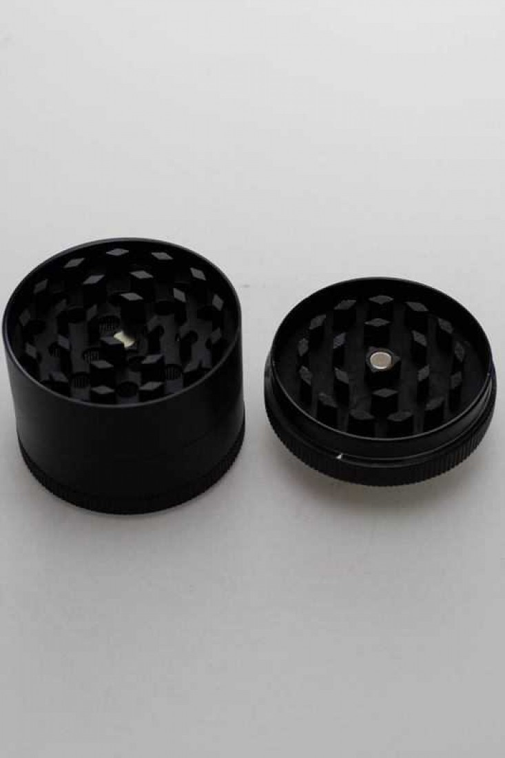 Convex lens 4 parts metal grinder (6 ea per box) SKU:3290