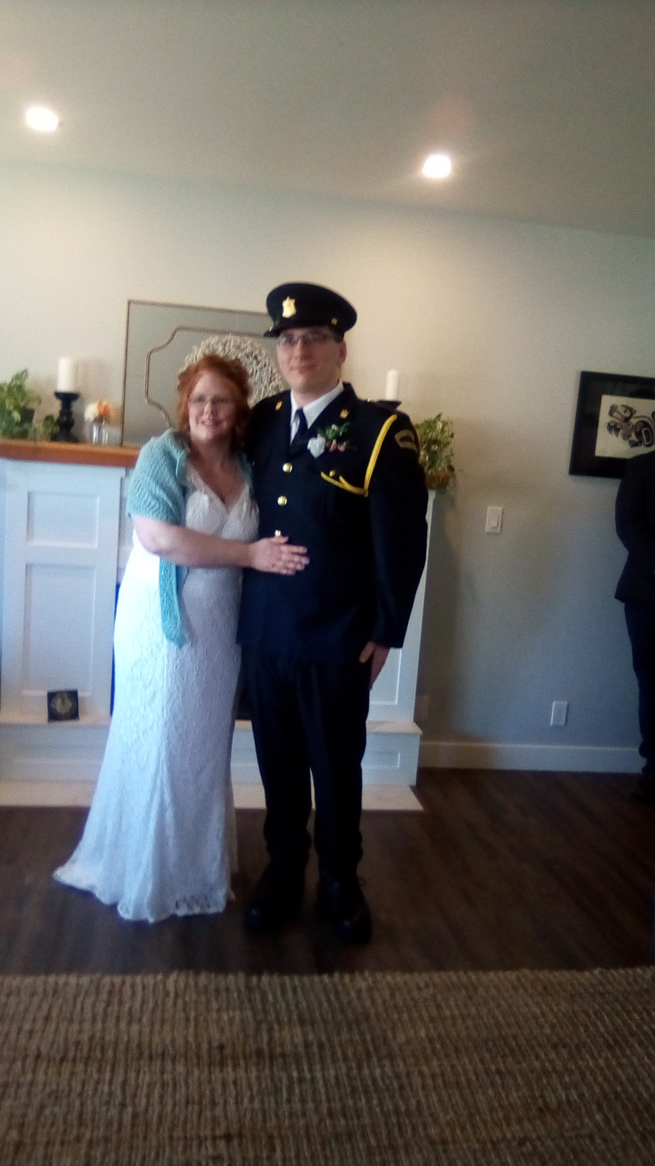 Congratulations to the new Mr. & Mrs. Kole Sluyter. Married April 18th with just their parents and grandparents as guests.