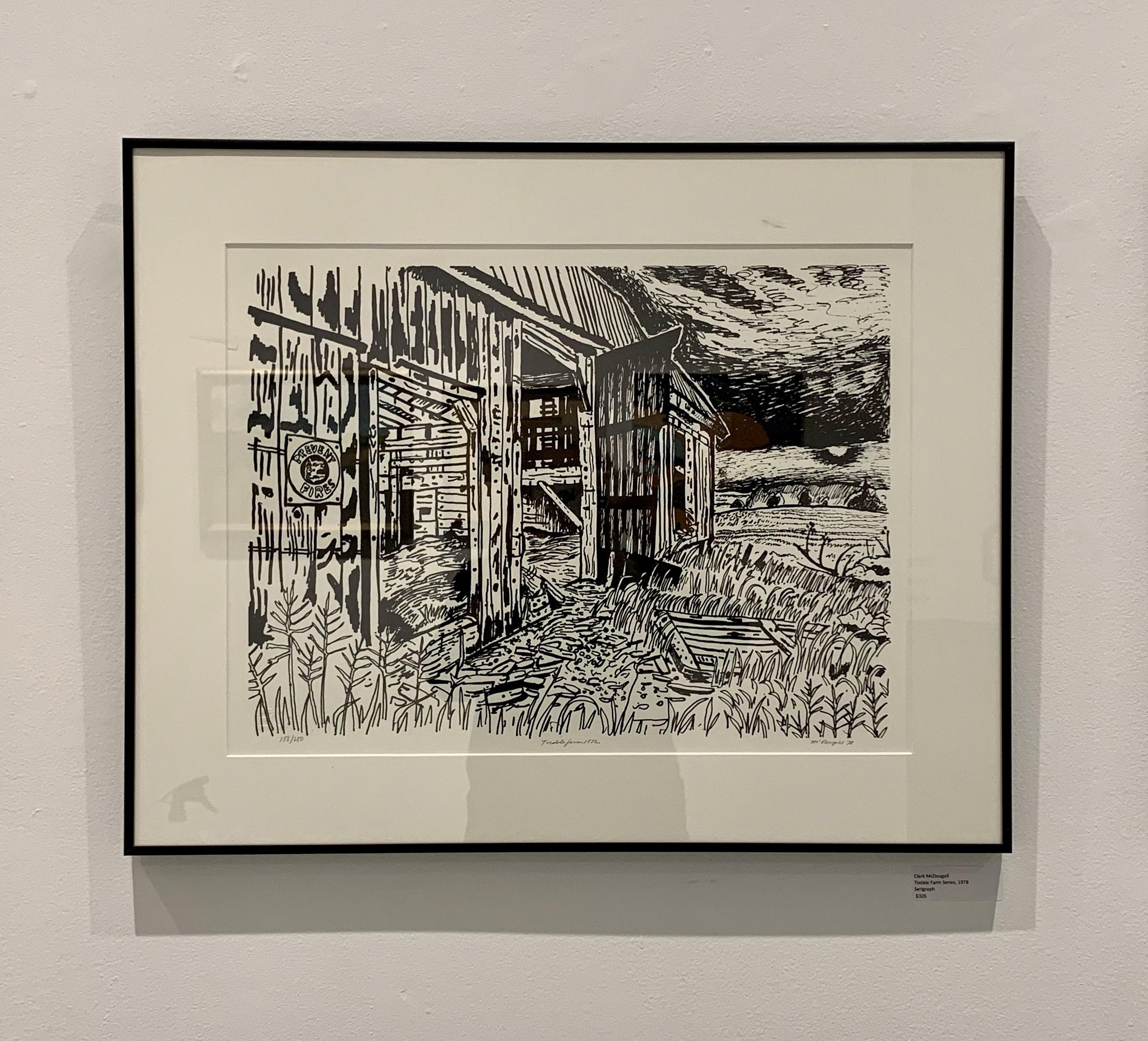 Clark McDougall, Tisdale Farm Series, 1978 $325