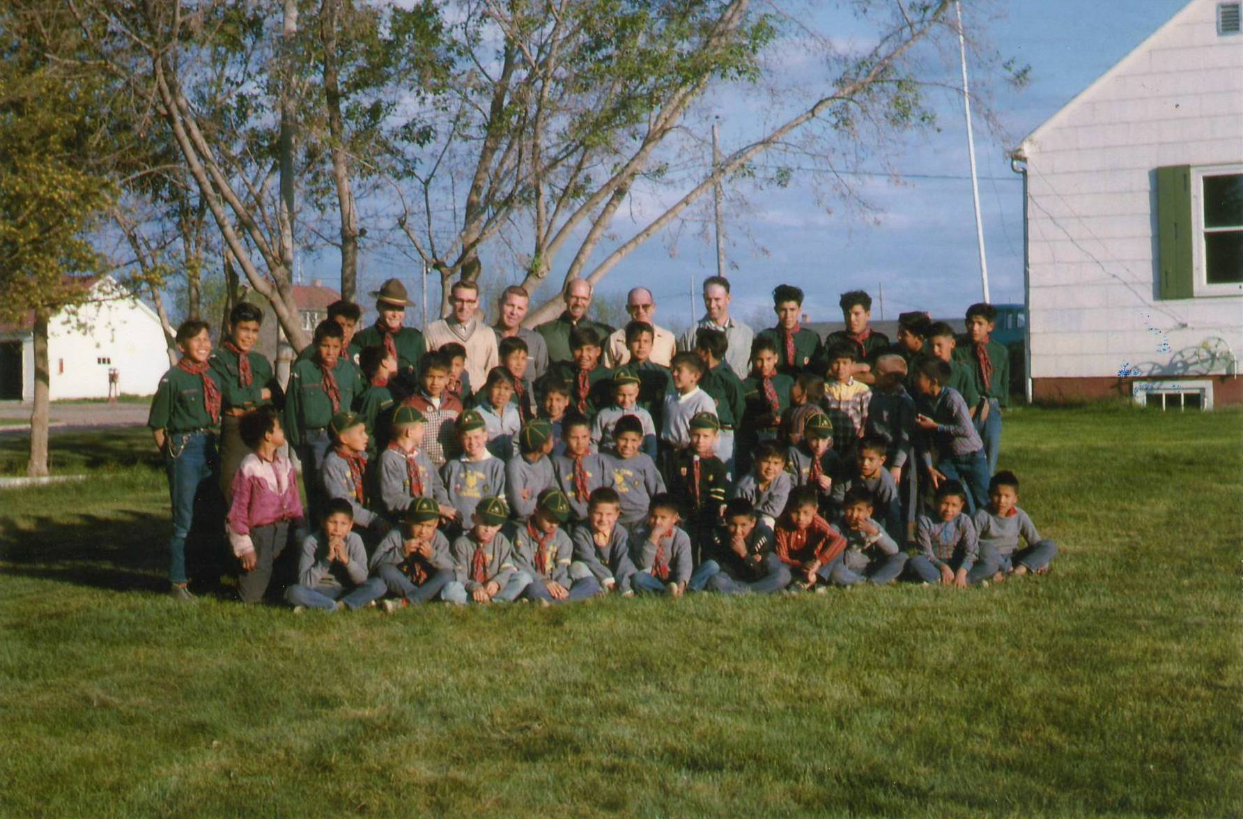 Boy Scouts and leaders. Photo Credit: