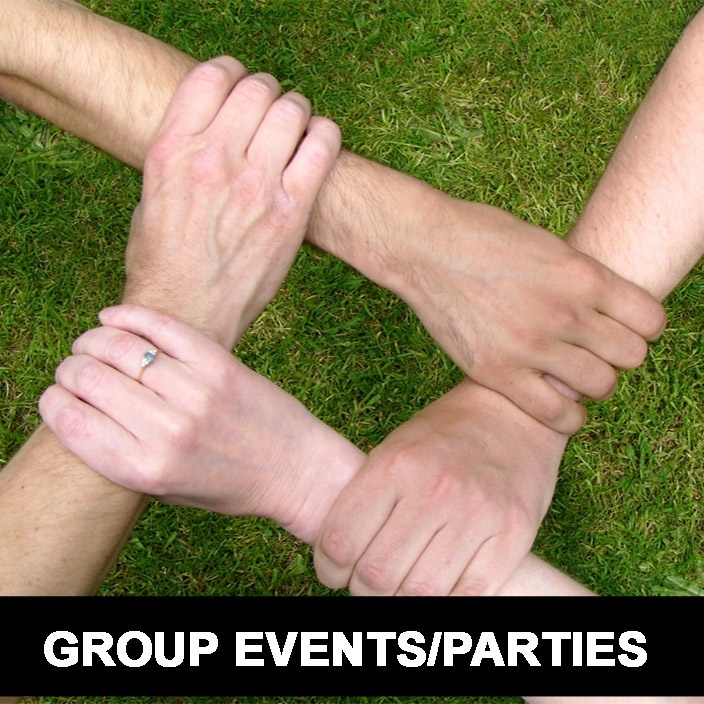 Open Group Reading Events or Parties your Location Locally