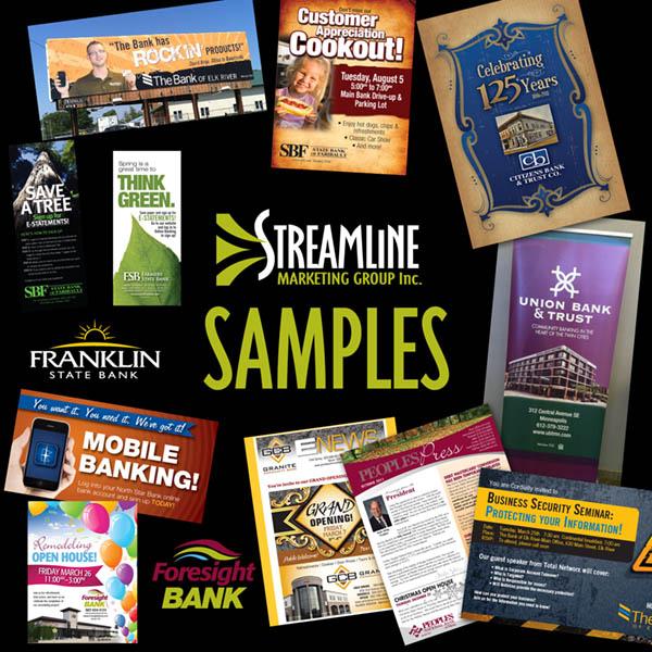 Bank marketing samples