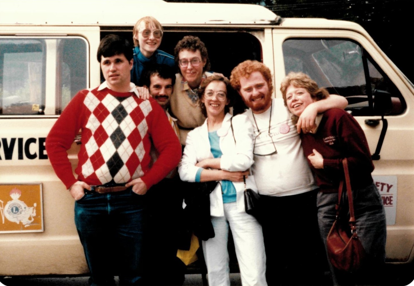 The Carefree Team back in the 80's.
