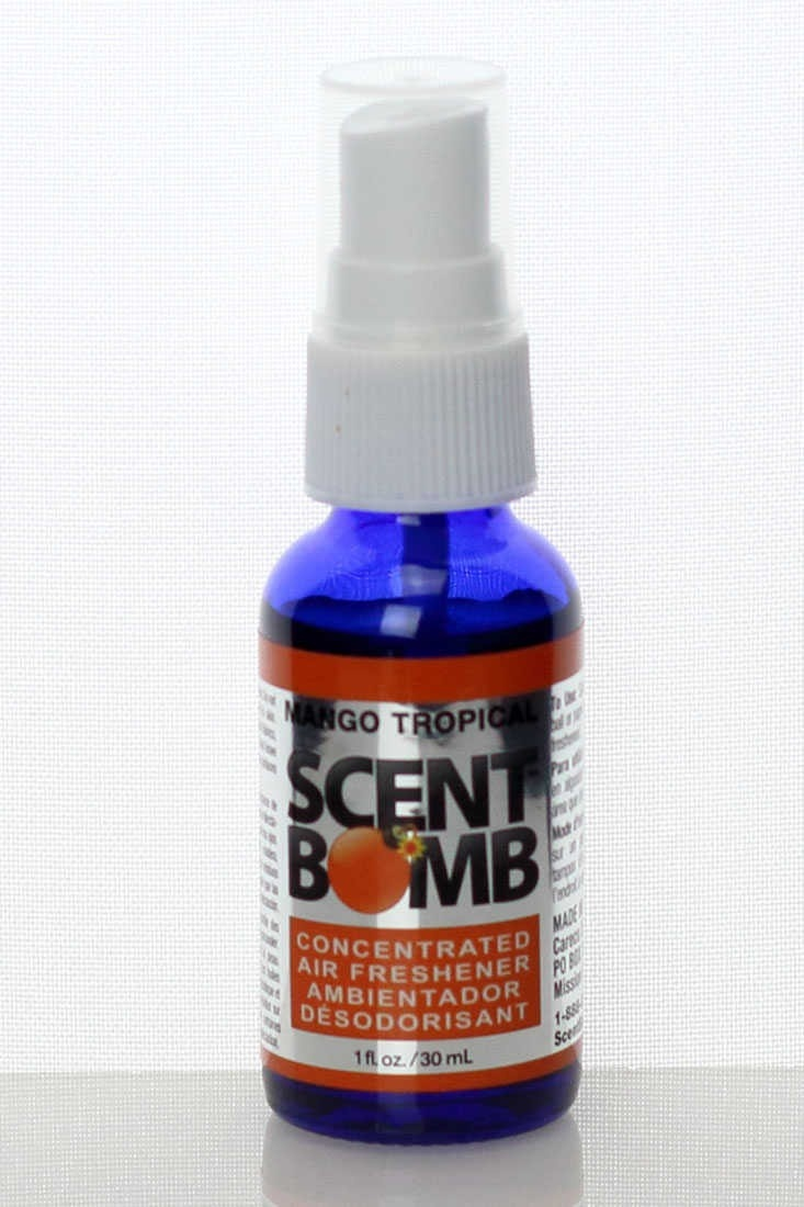 Scent Bomb air fresheners are the real thing! Scent Bomb is powerful 100% oil based air freshener that will give you a long lasting smell! Just a couple sprays on the floor mats of your car or in the bathroom trash can keeps it fresh for days. You do not have to keep spraying over and over. Try it and see that one spray will blow you away! We guarantee that Scent Bomb will be the BEST air freshener that you have ever tried