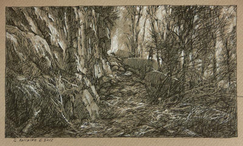 Forlorn trail. Wiarton.