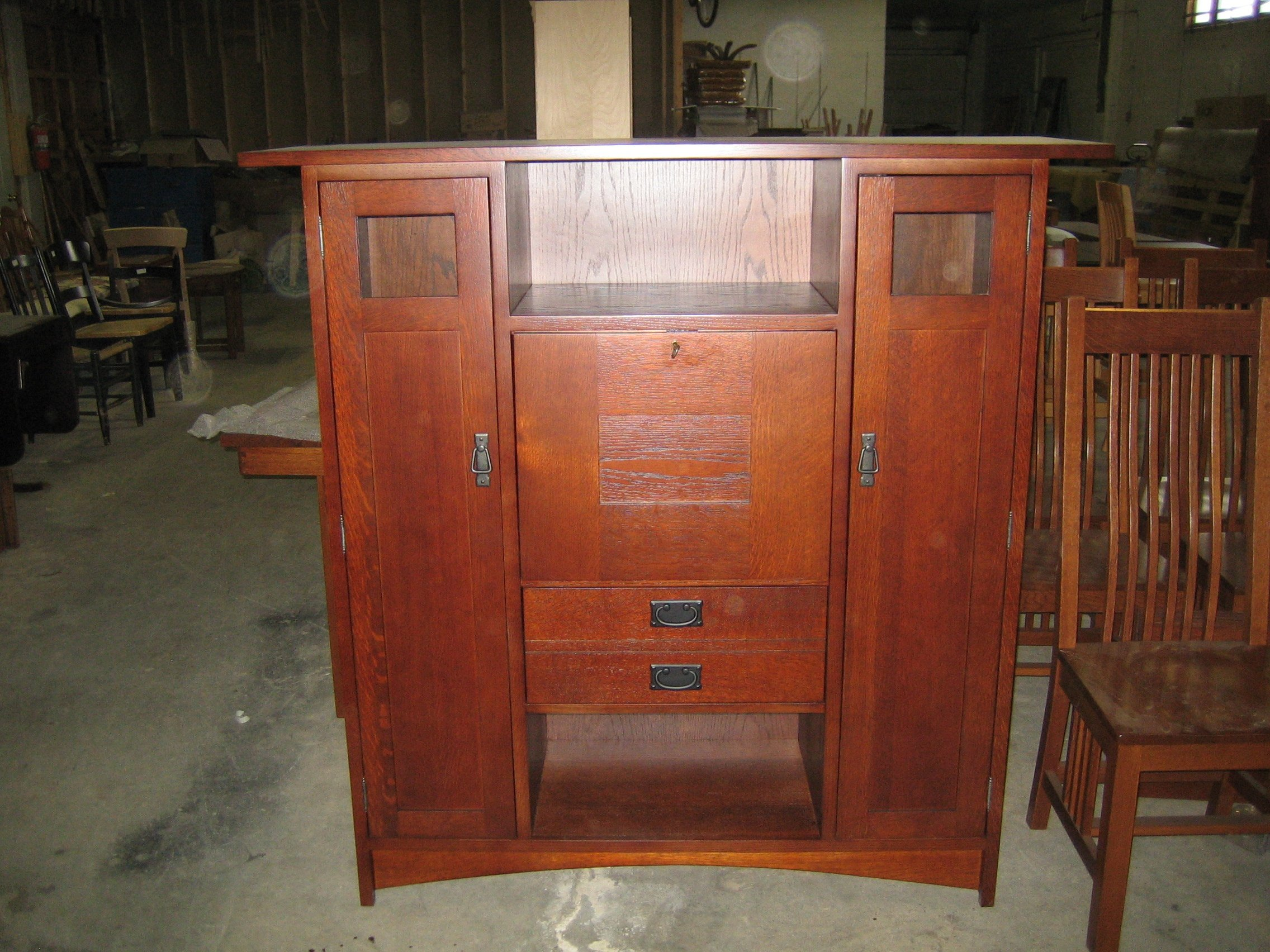 Crossley Mission Armoire