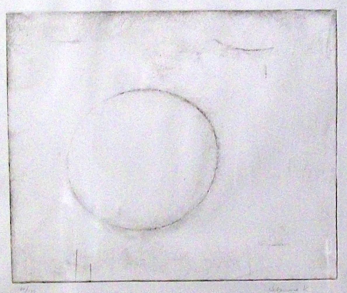 Kazuo Nakamura untitled, nd etching