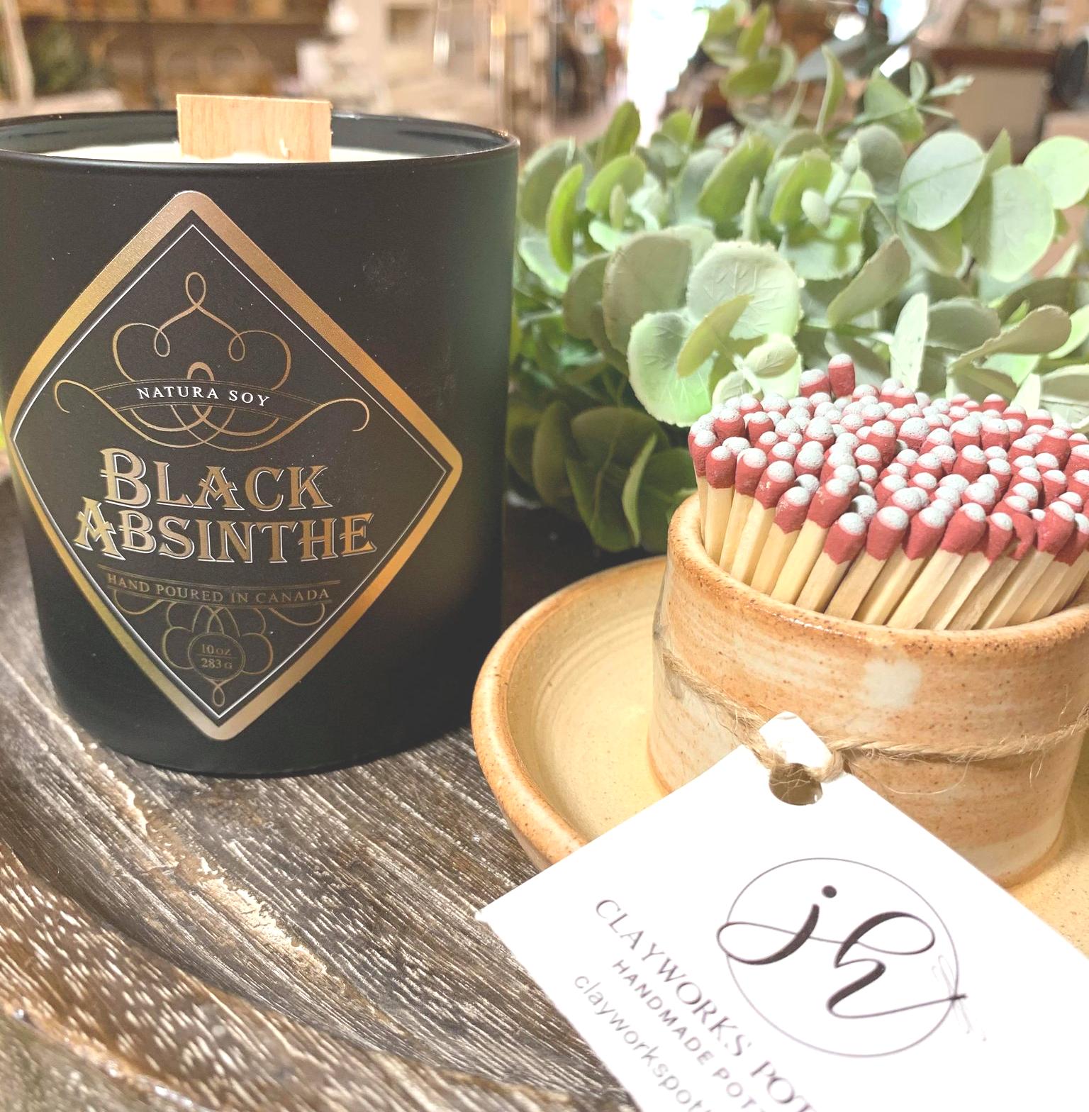 Black Absinthe Aniseed, Sweet Fennel and Bitter Orange.