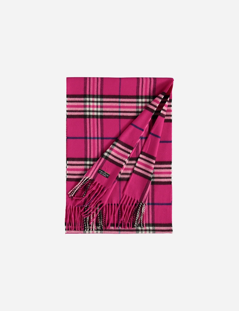 Hot Pink Plaid- $32.00 Polyacrylic, Made in Germany 4035419128980