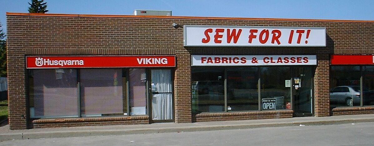 SEW for IT!  418 Moodie Drive, Ottawa. 613-820-2201
