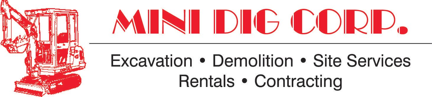 Equipment Rentals Mini Dig Rentals Excavation Demolition