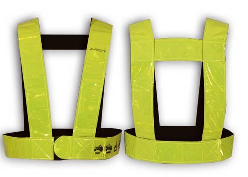 A-Pro LIGHT BELT Accessoires pour la sécurité routière conçu en matériel fluorescent  visible jusqu'à 200 m de distance (certification européenne EN471) Taille unique 29.57$