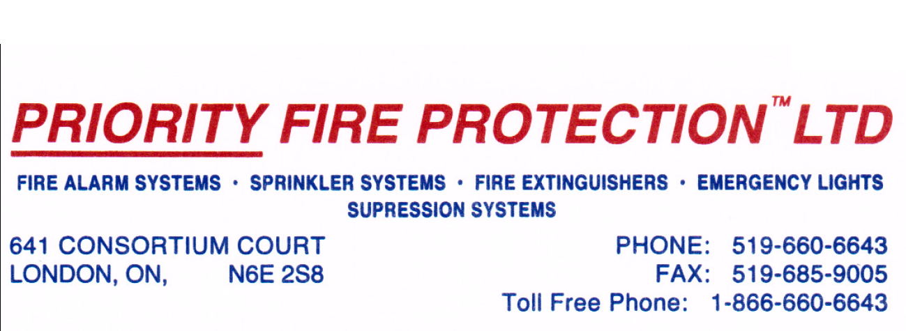 Priority Fire Protection