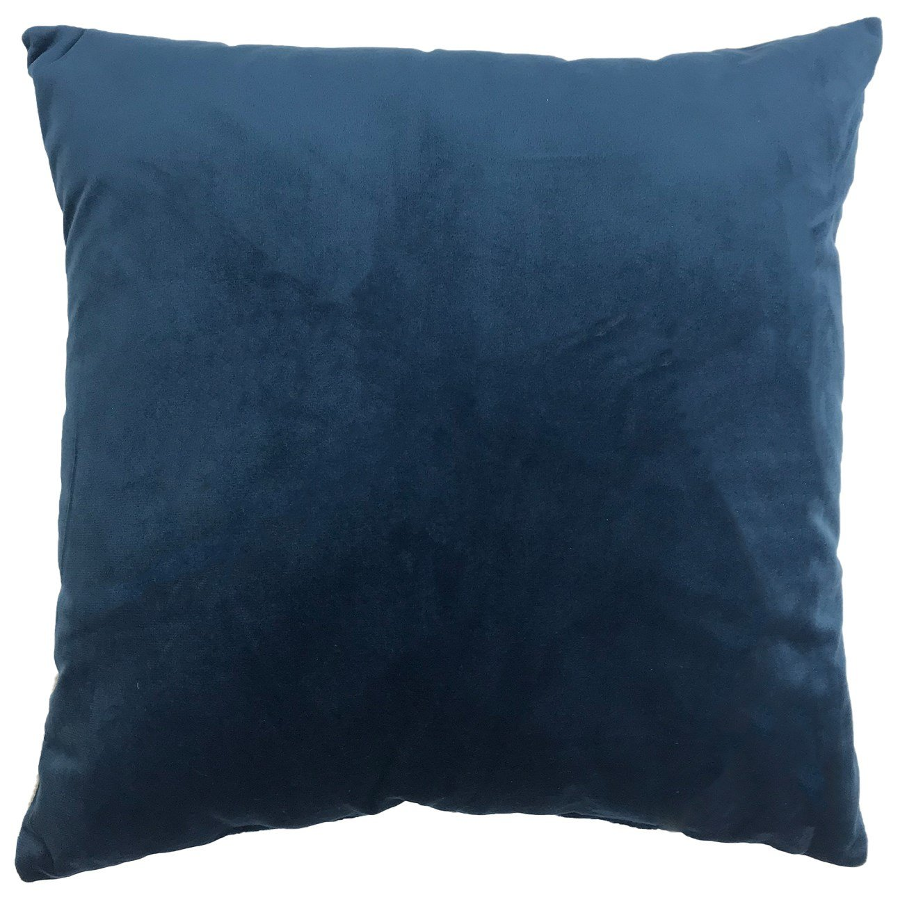 "18"" x 18"" Cotton Velvet Front with linen reverse. Removable feather insert. $29.99"