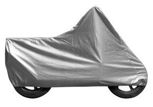 Housse pour moto TNT Matériaux: Textile 100% étanche Couture résistante renforcée Housses pour l'extérieur pour toutes motos idéales pour protéger votre moto contre la pluie, la neige, le soleil et la poussière. Facile à mettre et à retirer Couleurs: grise Disponible en plusieurs tailles XL 246x105x127 cm L x l x H 46.10$ XXL 268x110x130 cm L x l x H 47.84$