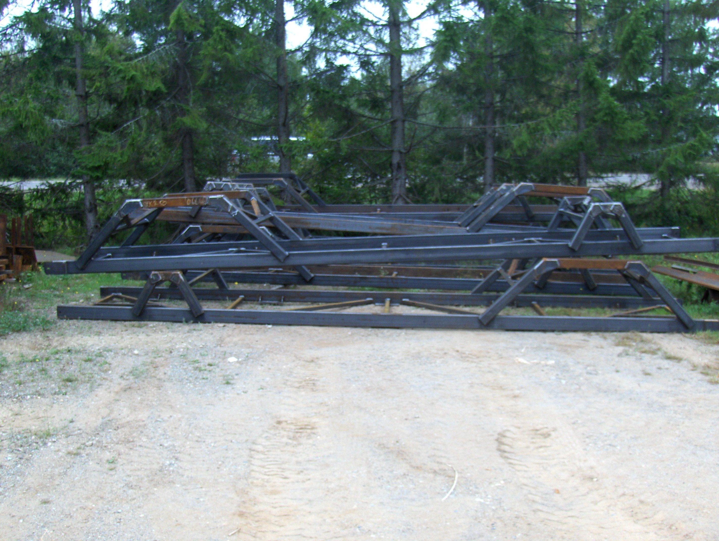 Convetor-stope-frame