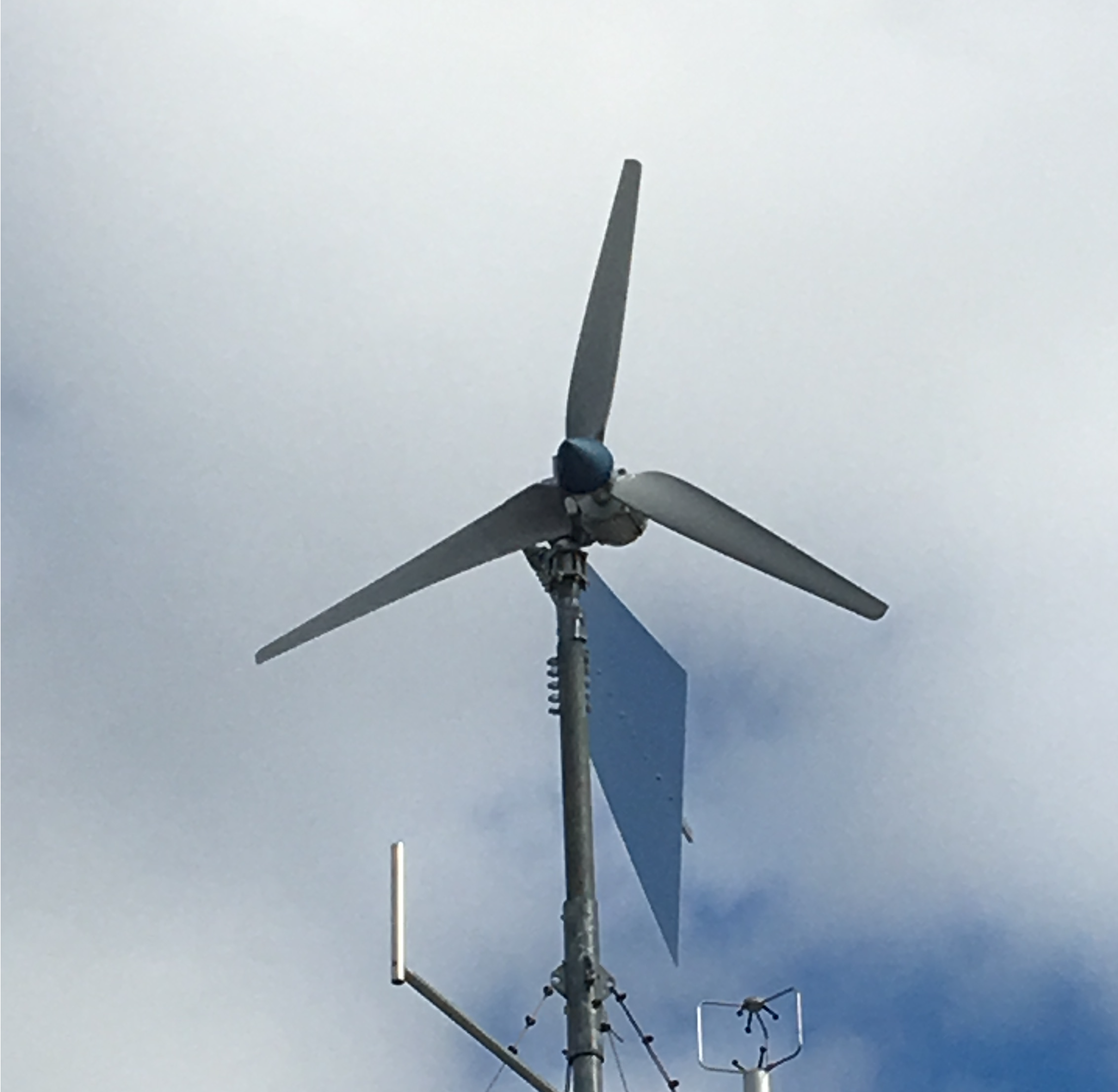 The Anorra Turbine is an excellent size for dwellings and cottages