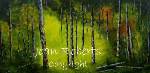 Into the  Light 12 x 24 , gallery canvass  $400.00