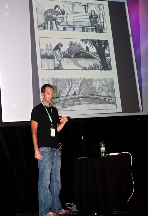 Ryan Woodward -  Conférence à la salle  Méduse  s août 2011  TlX3042
