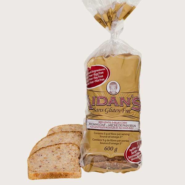 Aidan's Gluten-Free Brown Loaf