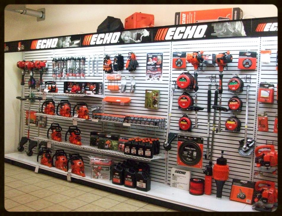 Echo equipment sales