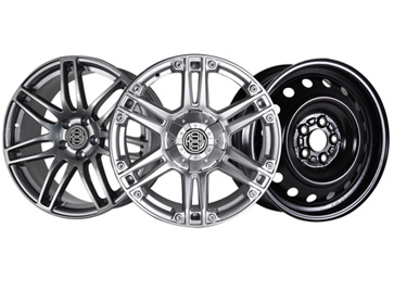 Aluminum & Steel Wheels