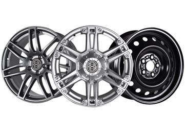 Aluminum & Steel Wheels