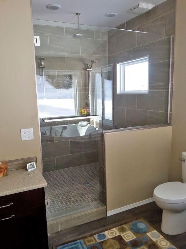 10mm Step-Up Shower Door