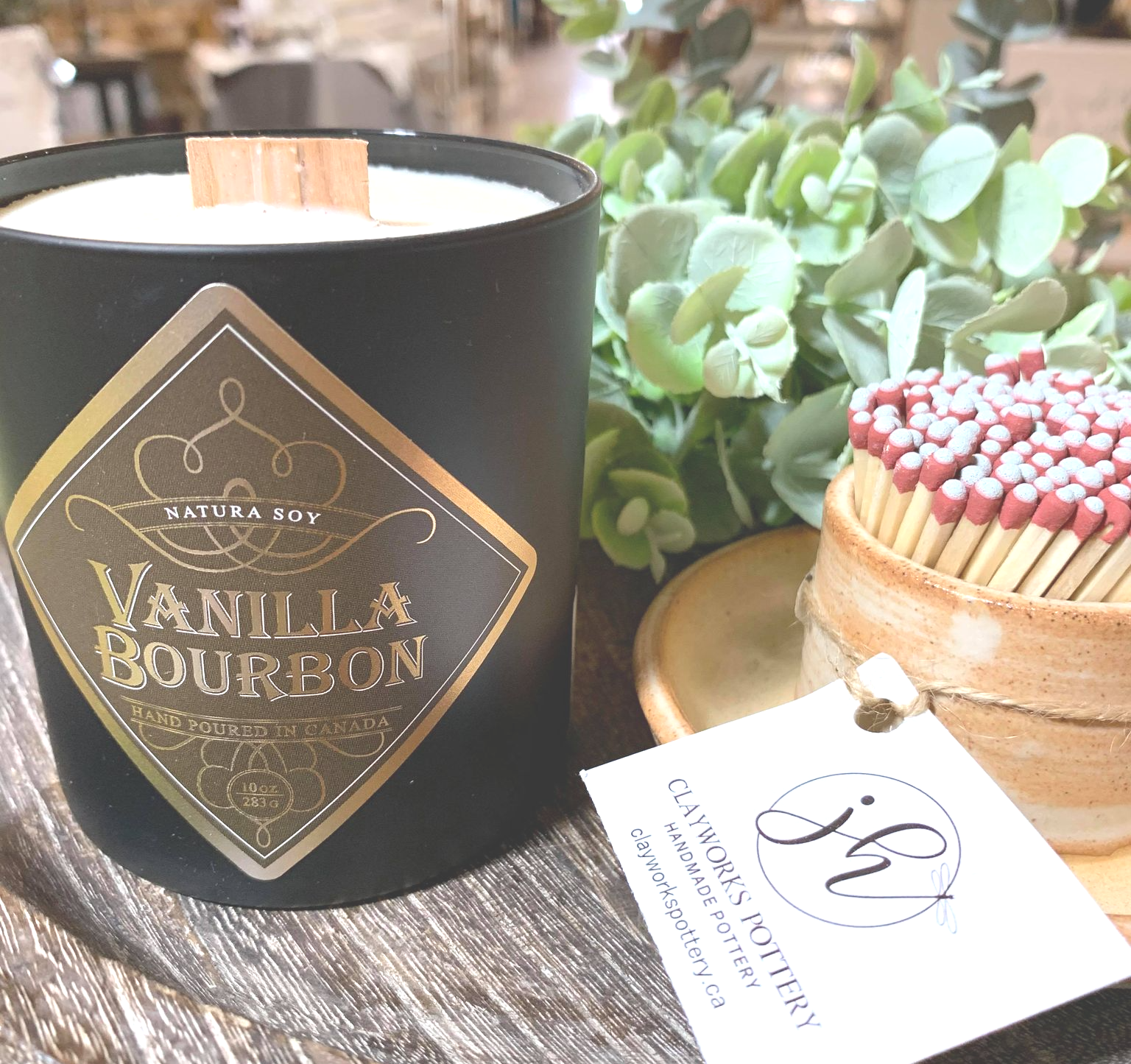 Vanilla Bourbon Vanilla and Oaked Bourbon Whiskey