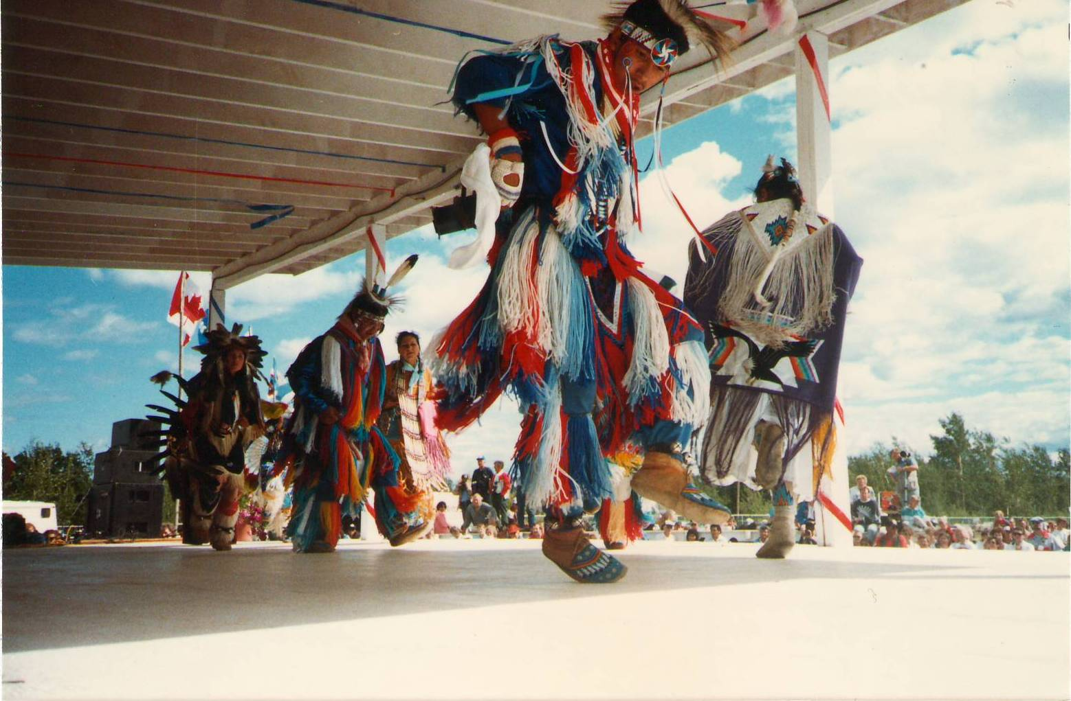 Traditional Dancers at the Bicentennial celebration. 1988.