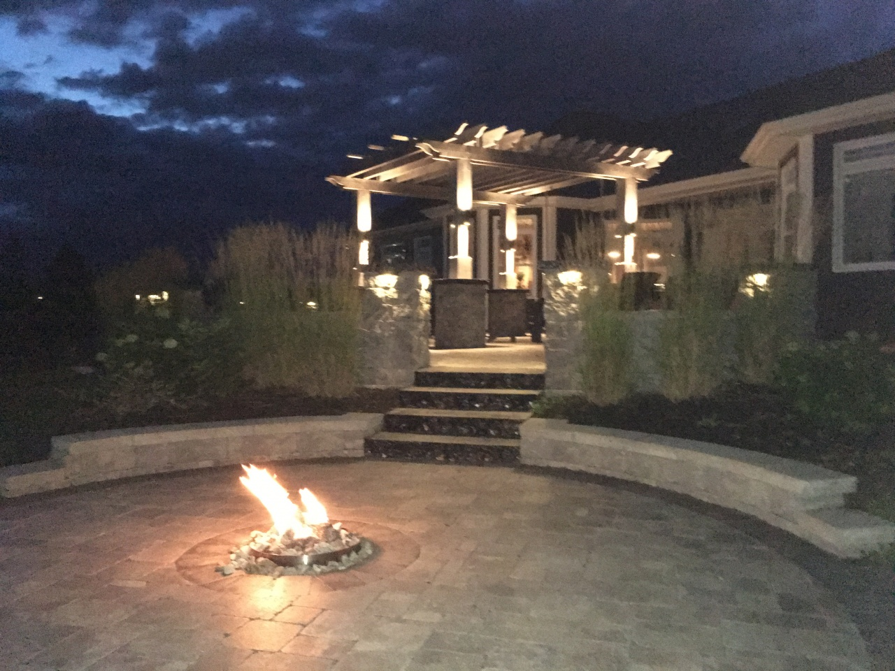 Outdoor Patio Fire