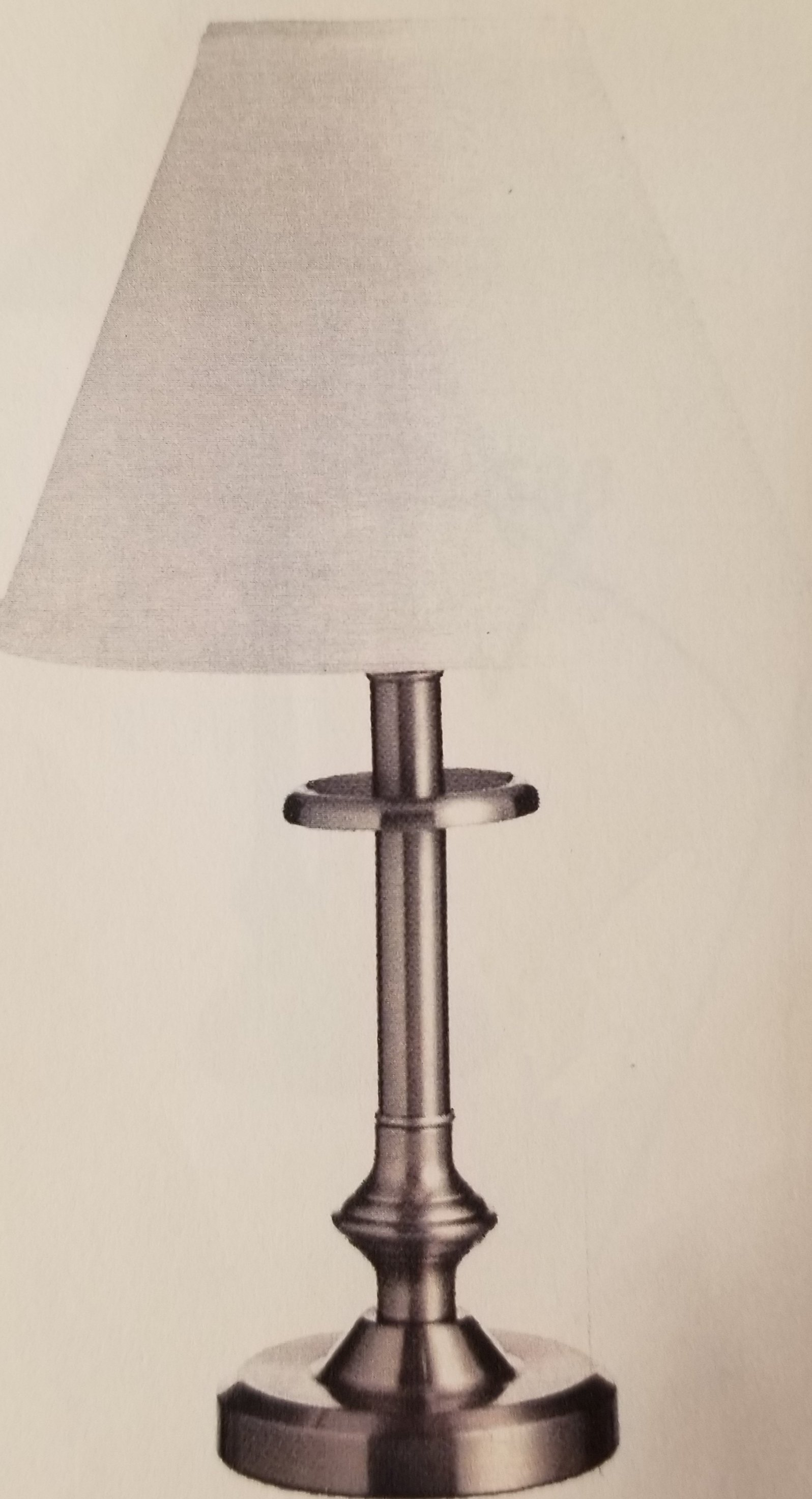 982 Table Lamp Made in Canada Available in Antique Brass,  Brushed Chrome, Black or Antique Bronze Regular Price $105.99 Sale Price $74.99