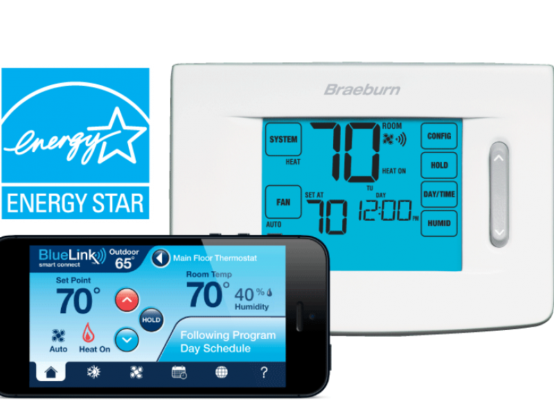 Braeburn BlueLink Smart Wi-Fi Thermostats