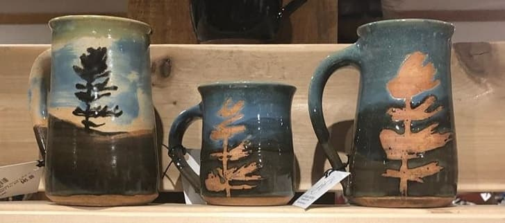 Assorted Tree Mugs Prices starting at $25