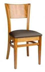 Café Side Chair, upholstered
