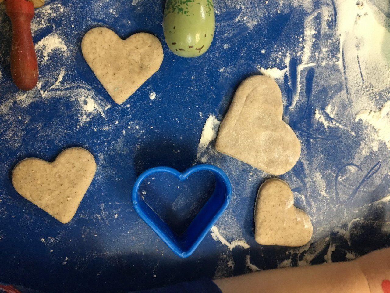 Heart Play Dough