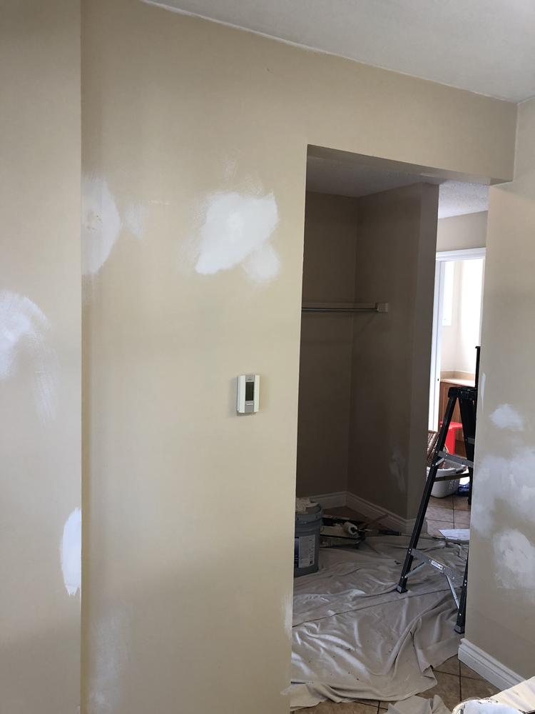 If you need drywall repairs, no problem, we do them all the time