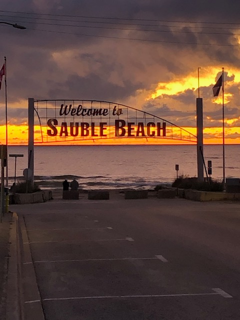 Sauble Beach Sunset
