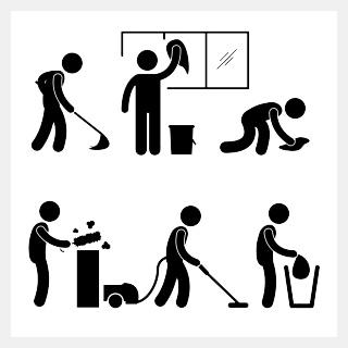 Résultats de recherche d'images pour « entretien ménager »