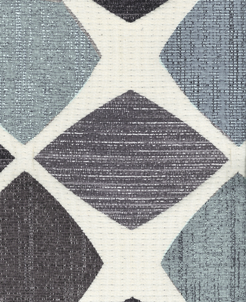 JACQUARD D96 Composition / Content: 74% Polyester - 26% Cot(t)on rep vert. 26 ¾'' rep. hor. 28 ¼''