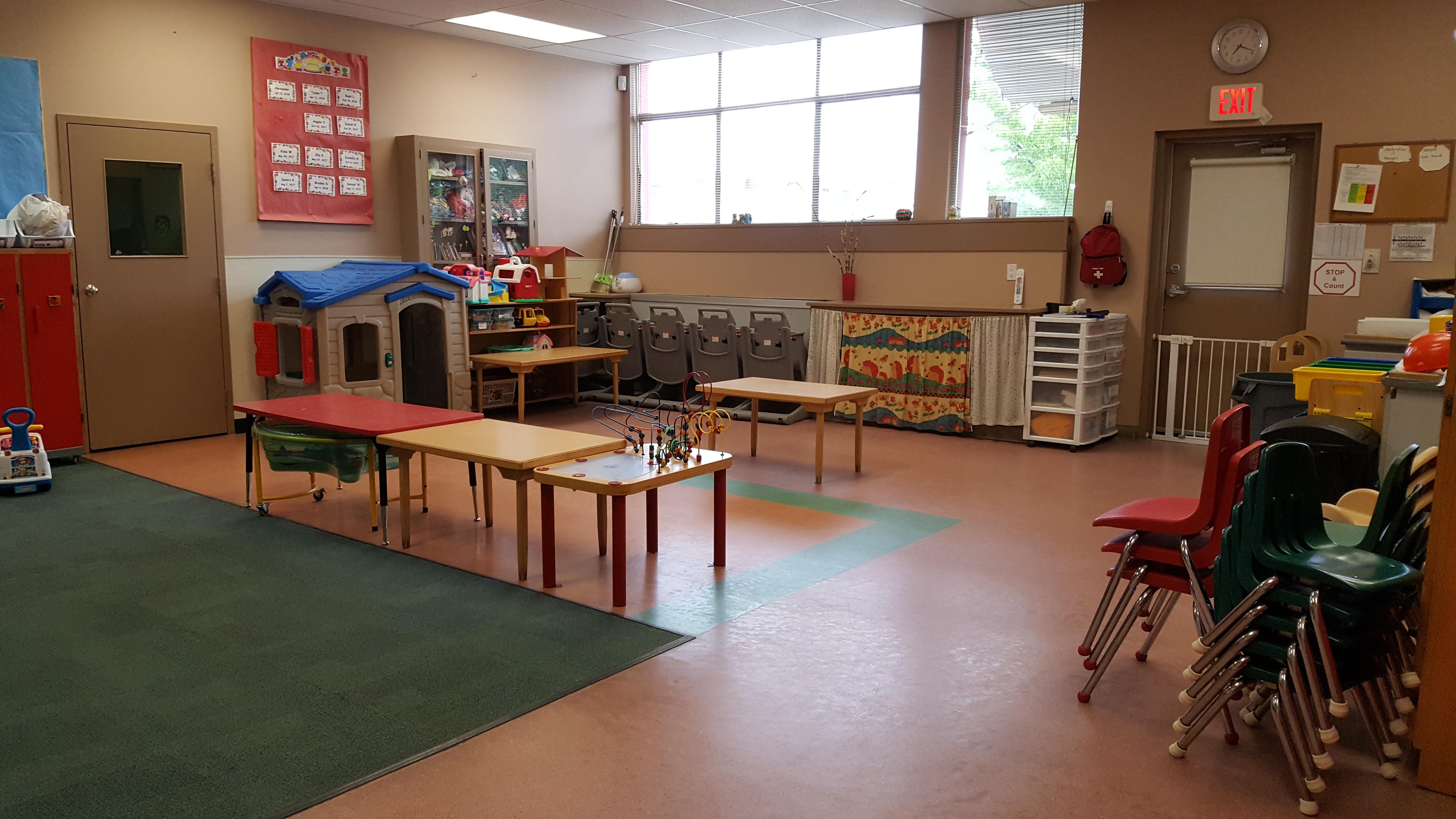 Nursery - children aged 4 months to 3 years