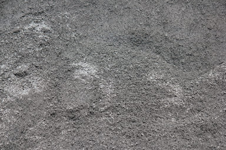 Poussière de roche