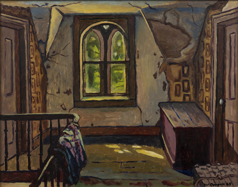 Artist: Clark McDougall, Dan Patterson's Landing, 1963, Oil on panel